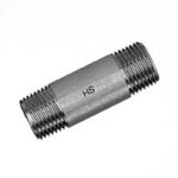 """80 mm Edelstahl Rohrdoppelnippel ¾/"""" Edelstahlfittings"""