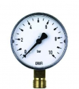 "Manometer 0-10 bar 63 RF 1/4"" radial  2000.00.906"